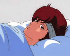 City Hunter Anime Cel Douga Kaori Makimura in Bed Animation Art Tsukasa Hojo