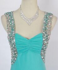 Prom Formal Cruise Dress SIZE 3 Gown $190 New Mint Long Dress Blondie Nites