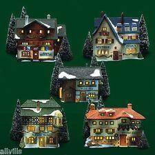 Alpine Village Original Set Of 5 #65404 Department 56 - Alpine Village