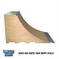 Quarter Pipe Skate Ramp 4 ft high x 4 ft wide Skateboards/Scooters/BMX