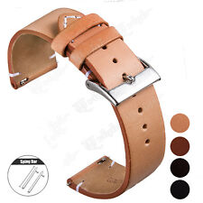 Watchband Genuine Leather Watch Band Strap 18mm 20mm 22mm Cowhide Bracelet