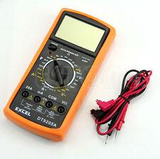 DT9205A Digital Multimeter LCD AC/DC Ammeter Resistance Capacitance