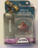 "New World of Nintendo Metroid 2.5"" Figure Jakks Pacific"
