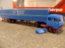 1/87 Herpa MB NG Mercedes Ersatzteil-Express Pritsche Sattelzug 811198