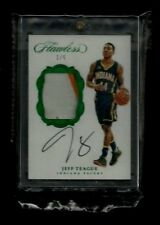 Jeff Teague 2016-17 Flawless SIGNATURE PATCHES EMERALD Auto #1/5! 1/1? Pacers SP