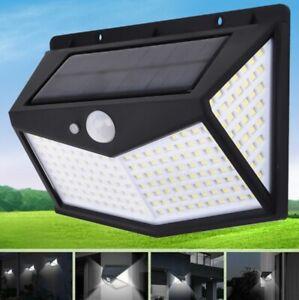 Lampada luce faretto faro esterno energia solare 212 LED sensore movimento