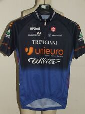 MAGLIA BICI CICLISMO MAILLOT SHIRT CYCLISM TEAM UNIEURO WILLIER MOA tg. L