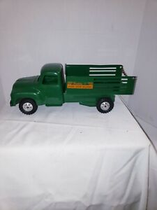 VINTAGE 100% ORIGINAL PRESSED STEEL BUDDY L TOY DELIVERY TRUCK MINT OLD STOCK