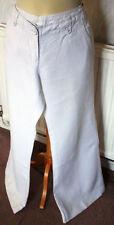 Monsoon Wide Leg Linen High Trousers for Women