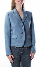 MAXMARA $495 Womens New 1103 Blue     Blazer        Casual Jacket  8 B+B