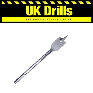 MACHINE WOOD FLAT BITS   QUALITY DRILL BITS   FROM 6mm to 40mm, EXTENSION SHANK