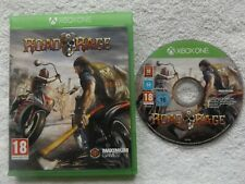 ROAD RAGE XBOX ONE V.G.C. FAST POST ( Vehicular combat & racing game )