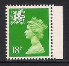 Gales 1993 W49Eb 18p banda de sello de folleto Litografía Lado Izquierdo estampillada sin montar o nunca montada