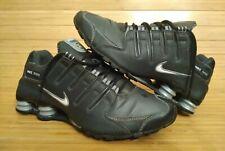 Nike Shox, Womens 10(Mens 9) 314561-004, 2010, Gray Black, Good