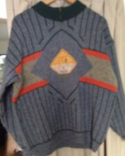 Pepe Knit Jumper Banks Wool Mix 1988 Vintage