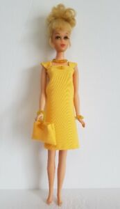 FRANCIE DOLL CLOTHES Cocktail Dress, Purse & Jewelry Set HM Fashion  NO DOLL d4e