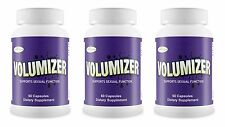 3 VOLUMIZER Semen SPERM Cum VOLUME Man Milk Increase Ejaculation PRIVATE LISTING