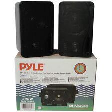Arcas Impermeable Pyle 15CM 400 Vatios Piscina PLMR24B Negro Camper Barco Agua