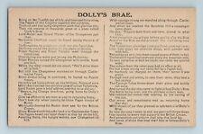 More details for vintage postcard dolly's brae, ulster ireland orange song lyrics