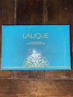 LALIQUE ULTIMATE COLLECTION Les Introuvables Miniature Perfume Bottle Flacon Set