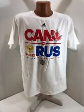 2016 World Cup of Hockey Canada vs Russia Adidas Shirt - Large