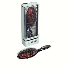 MEDIUM PORCUPINE BLACK BRISTLE CUSHIONED HAIR BRUSH ROYAL KENT BRUSHES HANDMADE