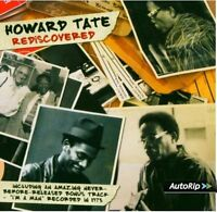 HOWARD TATE - REDISCOVERED - BRAND NEW FACTORY SEALED CD