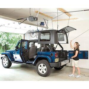 Harken Hoister Garage Storage 10' Lift, Jeep Hard Top Hoist, 145 lb, 7803.JEEP