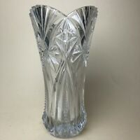 "HEAVY Vtg J G Durand Vincennes CRYSTAL VASE 10"" X 6"" GORGEOUS 6lbs"