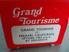 GRAND TOURISME MIKANSUE FERRARI CALIFORNIA SPIDER 1961 1/43 KIT DA MONTARE NUOVO