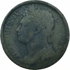 More details for 1822 hibernia half penny coin eire / ireland george iv      #wt19156