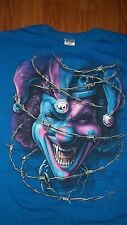 (2 Sided) ICP Hip Hop Rap INSANE CLOWN POSSE Barbed Wire T-Shirt XL mens