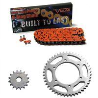 2010 KTM 1190 RC8 O-Ring Chain and Sprocket Kit - Orange
