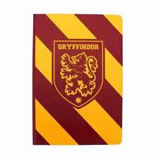 OFFICIAL HARRY POTTER GRYFFINDOR STRIPE A5 NOTEBOOK NOTEPAD JOTTER