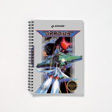 Gradius Nintendo NES Game Cover Design Spiral Notebook