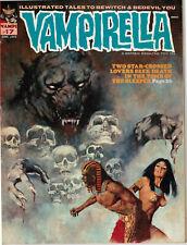 VAMPIRELLA, VAMP #17, JUNE 1972. COVER by ENRICH TORRES. NEAR MINT (Dog-Ear)
