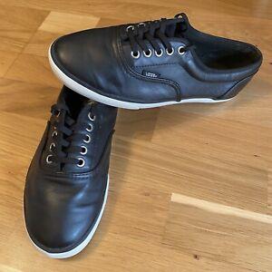 Vans LPE Sneaker Größe 41 Schwarz Leder Look sehr SELTEN p2