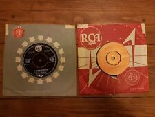 """Elvis Pressley 7"""" Single X2 The Girl Of My Best Friend Its Now Or Never"""