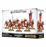 Bloodletters Daemons of Khorne Chaos Warhammer Age of Sigmar NIB Flipside