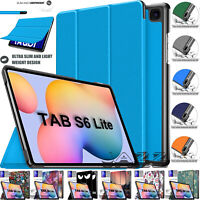 Smart Leather Stand Flip Folding Case Cover For Samsung Galaxy Tab S6 Lite 10.4