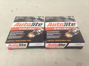 EIGHT(8) Autolite AR53 Racing Spark Plug SET fits Champion N9YC NGK BP6ES