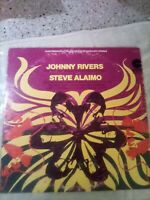 "Johnny Rivers & Steve Alaimo - Custome Records - 33rpm /12""LP -  *Used*"
