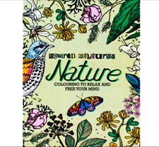 Inspired Coloring Nature Coloring to Relax and Free Your Mind Adult Coloring NEW