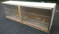 "Double Budgie Breeding Cage 50"" x 18 x 12."