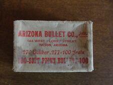 Arizona Bullet Co., Inc. .270 cal Bullets Empty Box