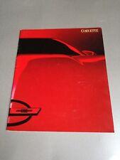 1987 Chevrolet Corvette Brochure rare