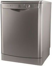 Indesit Dfg15b1s Standing Full Size 13 Place Dishwasher Silver