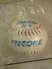 New listing Encore Msp-47 Leather Day/Night 12 inch Baden 2B-S White Softball Unopened Pkg
