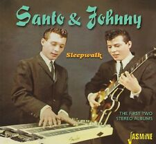 Santo & Johnny - First Two Stereo Albums [New CD]
