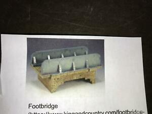 T12) IN BOX KING & COUNTRY SP030 FOOTBRIDGE RETIRED PRE-OWNED